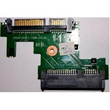 Плата коннектор для Sata HDD для ноутбука HP 6050A22360301-15HDD-A01-6L