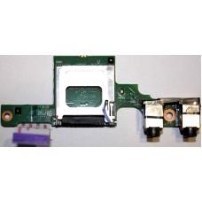 Card Reader и аудио разъемы 6050A2330501-AUDIOB-A02 для HP 425, 620, 625