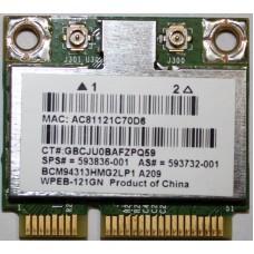 Wifi Broadcom BCM94313HMG2LP1 A209 802.11 b/g/n mini