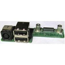Плата разъема питания и USB DH3 Left I/O Board 1A.4W104.011