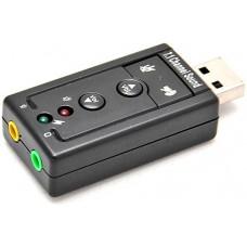Звуковая карта USB 7.1