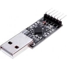 Конвертер UART USB to TTL на базе CP2102