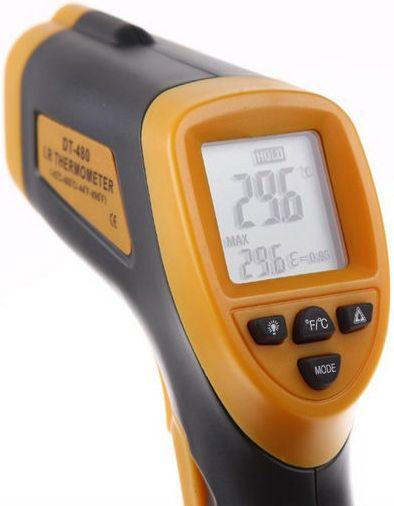 термометр dt-480 дисплей
