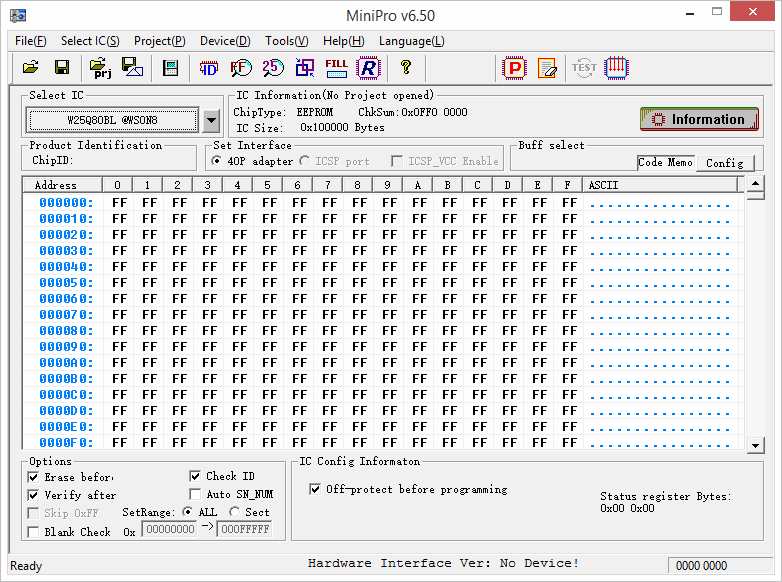 программа прошивки minipro
