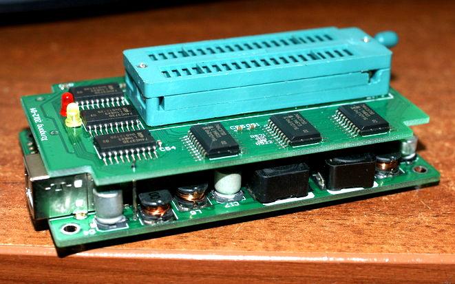 внутренности minipro tl866
