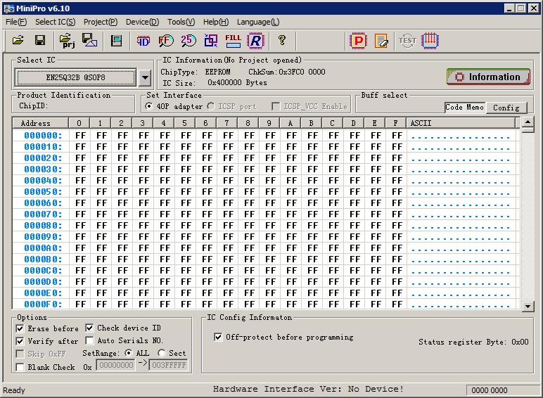 программа MiniPro.exe